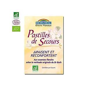 Biofloral - Pastilles de secours - pastilles 100 - Apaisement et réconfort