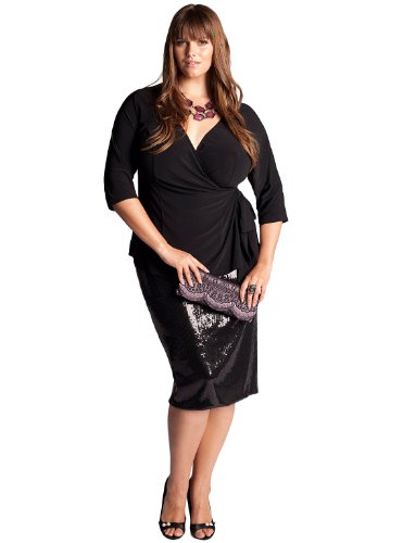 Buy IGIGI by Yuliya Raquel Plus Size Joan Top in Black