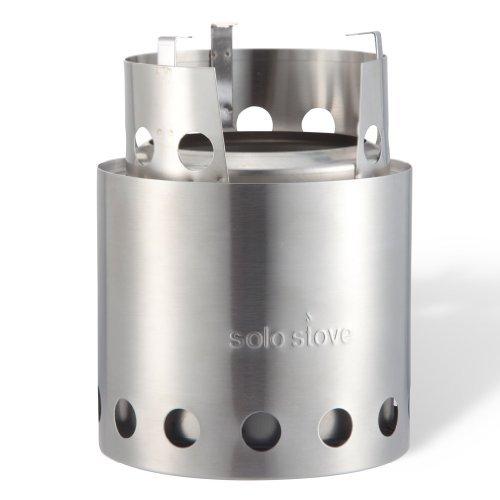 solostove(ソロ ストーブ):二重壁構造、ウッドストーブ(バーべキューコンロ)、バックパッキングストーブ、キャンプストーブ、サバイバルストーブ、非常用、防災用ストーブ、キャンプ、ツーリング、ハイキング、コンロ