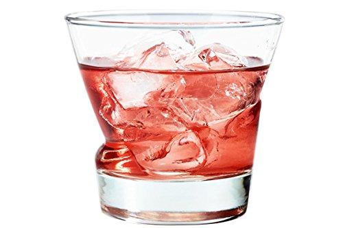 Durobor 830/25 Lima verre à whisky 250ml, 6 verre, sans repère de remplissage