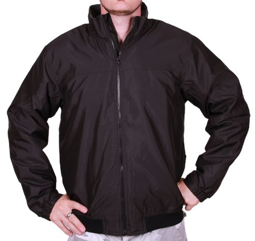 Chaps Men's Fleece-Lined Jacket (3XL, Black)