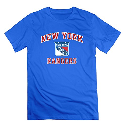JUST Men's Heart Soul New York Rangers T-Shirts RoyalBlue L (Russell Wilson Rangers Jersey compare prices)