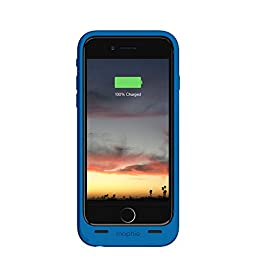 mophie juice pack air - Slim Protective Mobile Battery Pack Case for iPhone 6/6s - Blue
