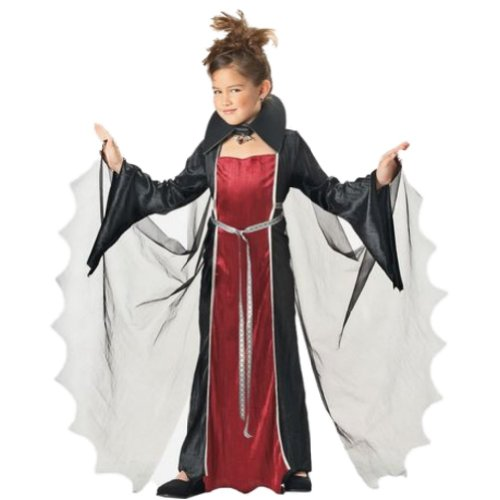 California Costumes Girls Vampire Costume Vampiress