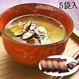 フリーズドライ 無添加 味噌汁 島根県宍道湖 赤だし しじみ汁 20食セット (5袋入×4個)