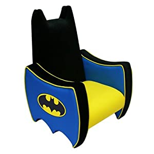 Warner Brothers Batman Icon Kid's Novelty Chair by Harmony Kids