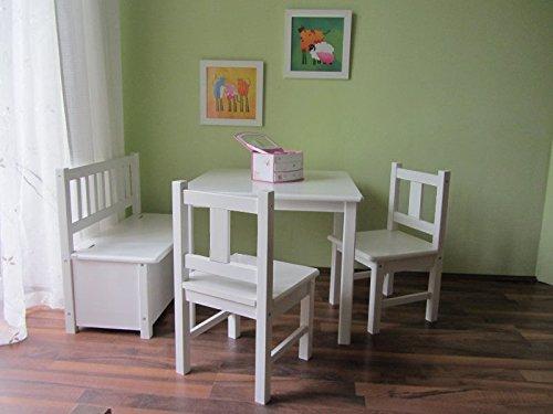 Best-of-JAM-Kindersitzgruppe-1x-Kindertisch-2x-Kinderstuhl-1x-Kindersitzbank-mit-Deckelbremse-WEI-MASSIVHOLZ-NEU-OVP