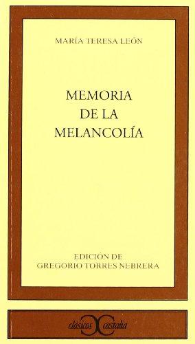 MEMORIA DE LA MELANCOLIA descarga pdf epub mobi fb2