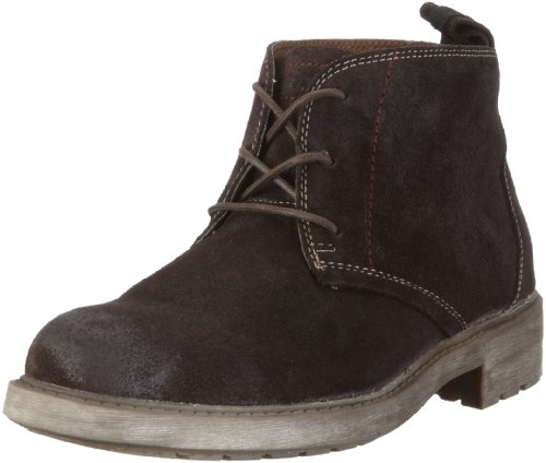Skechers Men's Dresser Alfred Chocolate Lace Up 62413 7 UK