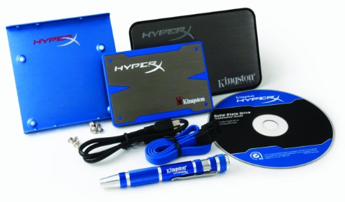 Kingston SH100S3B HyperX 120GB SSD (6,3 cm (2,5 Zoll), SATA) Bundle Kit