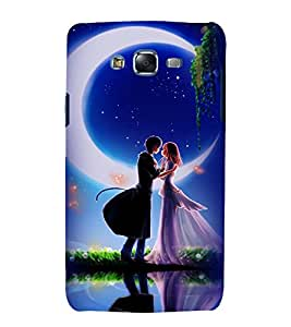 printtech Love Couple Back Case Cover for Samsung Galaxy Core 2 G355H