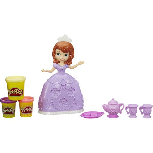 Create Sofia The First Tea Party Set 1 Can Modeling & 2 Cans Sparkle Compound