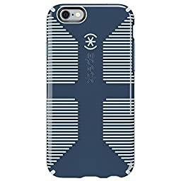 Speck Products CandyShell Grip Case for iPhone 6/6S - Retail Packaging- Shadow Blue/Nickel Grey