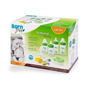 BornFree 奶瓶套装 奶瓶、奶嘴、奶瓶刷、奶粉格