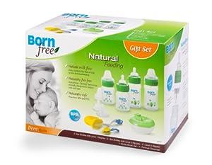 Born Free防胀气奶瓶礼品套装Deco Bottle Gift Set $18.74 历史最低价