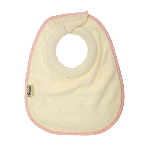 Tommee Tippee Closer to Nature Milk Feeding Bib, Pink, 2 Count
