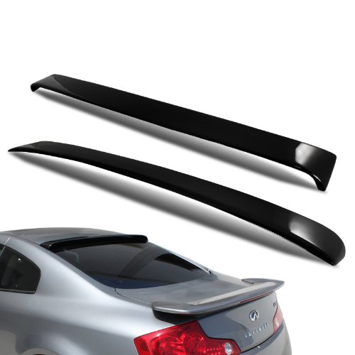 03-07 Infiniti G35 2DR Coupe HIC Rear Roof Window Visor Spoiler Wing
