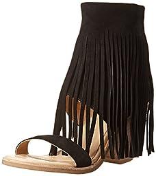 Koolaburra Women\'s Piaz II Dress Sandal, Black, 8 M US