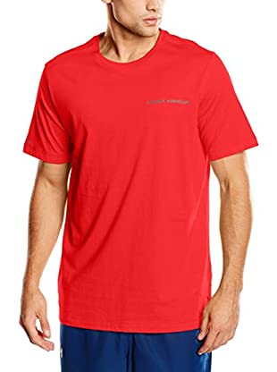 Under Armour Camiseta Manga Corta Fitness Charged (Rojo)