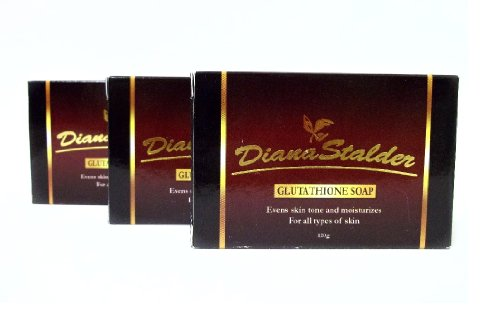 Lot of 3 Diana Stalder Glutathione Skin Whitening Soap
