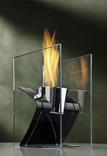 Decorpro-10010-Zed-IndoorOutdoor-Fireburner-Black