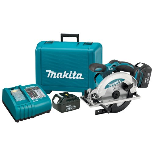 Makita BSS610 18Volt LXT LithiumIon Cordless 61/2Inch Circular Saw Kit