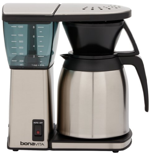 Read About Bonavita BV1800TH 8-Cup Coffee Maker with Thermal Carafe