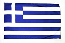 BANDERA de GRECIA 150x90cm - BANDERA GRIEGA 90 x 150 cm - AZ FLAG