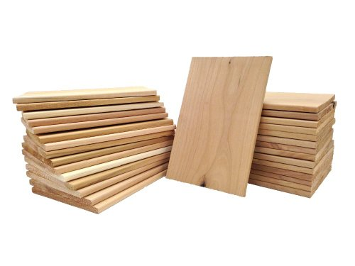 Why Should You Buy Pacific Northwest Blend Medium Cedar-Alder Grilling Planks (2nds) 30 Pack