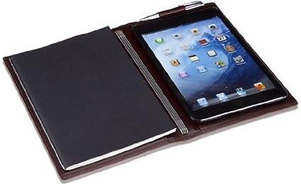 X47 IX47 a5 slimline classic naturgenabt pour iPad mini marron