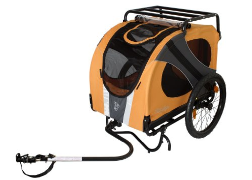 Best Pull Behind Dog Carriers For Bikes