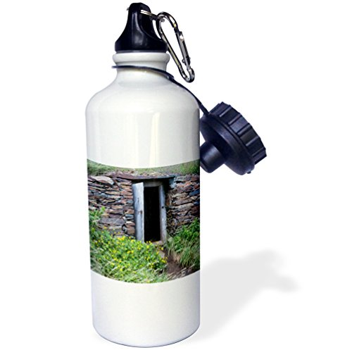 Danita Delimont - Canada - North America, Canada, root cellar in Elliston, the root cellar capital of the world. - 21 oz Sports Water Bottle (wb_226910_1) (Roots Canada Backpack compare prices)