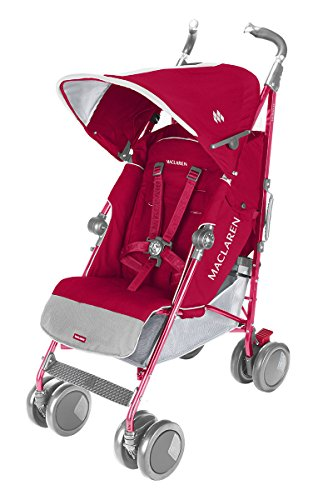 Maclaren Techno XT Stroller, Persian Rose - 1