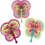 Pack of 6 - Colourful Butterfly Shape...