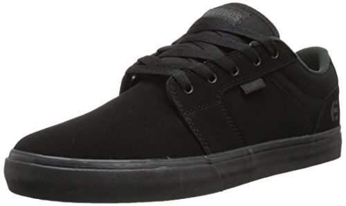 Etnies BARGE LS, Low-Top Sneaker uomo, Nero (Schwarz (Black/Black)), 40