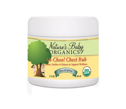 Nature's Baby Organics Organic Ah-Choo! Chest
