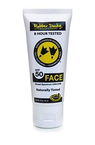 galleon rubber ducky sunscreen spf 50 naturally tinted face sunscreen tube 2 oz. Black Bedroom Furniture Sets. Home Design Ideas