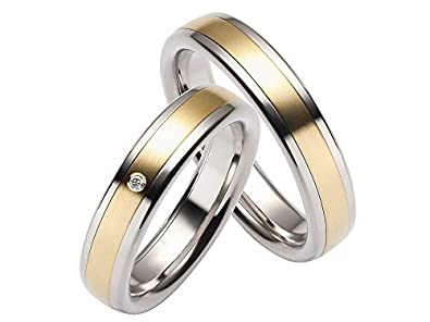 Rauschmayer pair of wedding rings First 60043