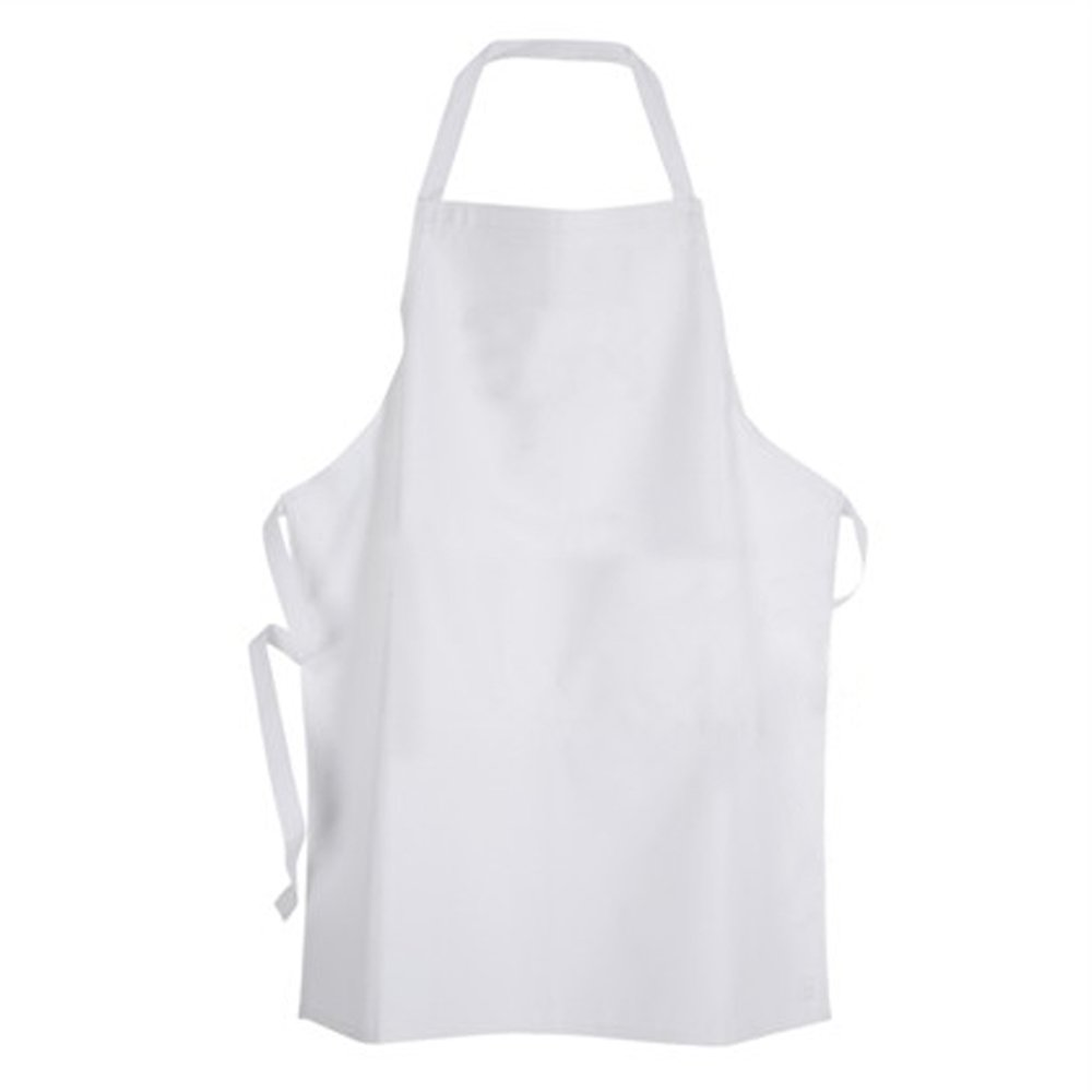 The Gallery For Gt Plain White Apron