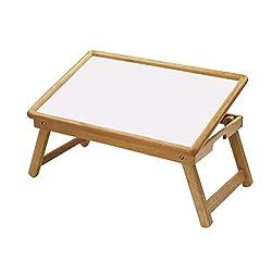 Alfa Mart-Multi-Purpose Foldable Wooden Adjustable Study Table