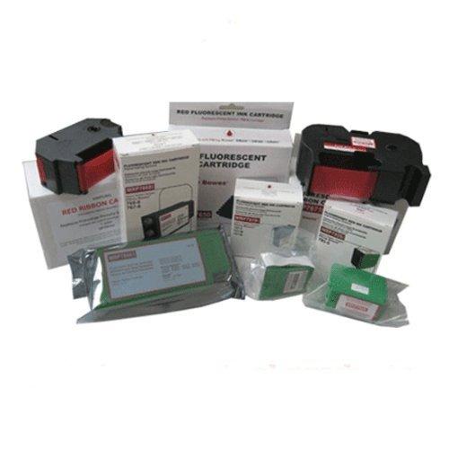 Compatible Pitney Bowes Fluorescent Red 765-0 Inkjet Cartridge for Pitney Bowes Dm200 , Dm300 , Dm400, Secap Dp200