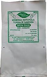 Minerva Naturals Uv Treated Poly Grow Bag (Set Of 8- Size 24 X 24 X 40) Minerva Naturals