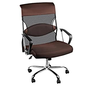 Plus+Size Living Brylanehome Extra Large Mesh Office Computer Chair
