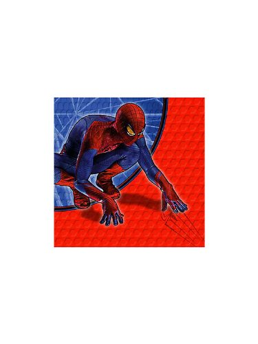 The Amazing SpiderMan Dessert Napkins 16 Pack
