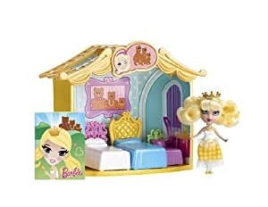Barbie Peekaboo Petites Storytime Goldilocks Room Doll