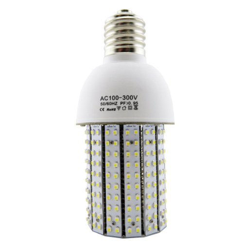 20-Watt Led Corn Style Bulb (150-Watt Equivalent) 2300 Lumens Output - Omnidirectional - E26 Medium Base - Daylight White 6000K - Built In Fan - Full Body Heat Sink