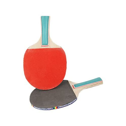 Como Pair Green Handle Double Side Penhold Table Tennis Racket