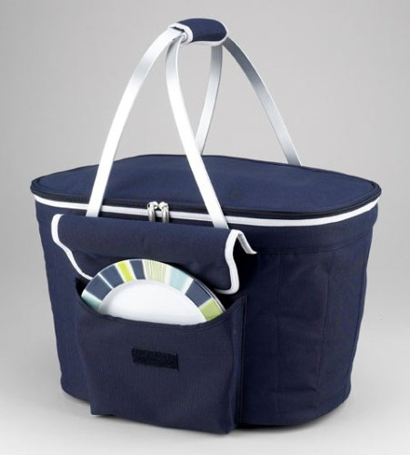Picnic At Ascot Collapsible Insulated Picnic Basket For 4 : Picnic at ascot collapsible insulated basket home