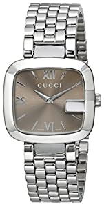 "Gucci Women's YA125410 ""G-Gucci"" Stainless Steel Watch"