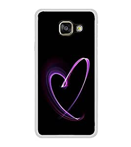 ifasho Modern Art Design heart animated Back Case Cover for Samsung Galaxy A5 (2016)